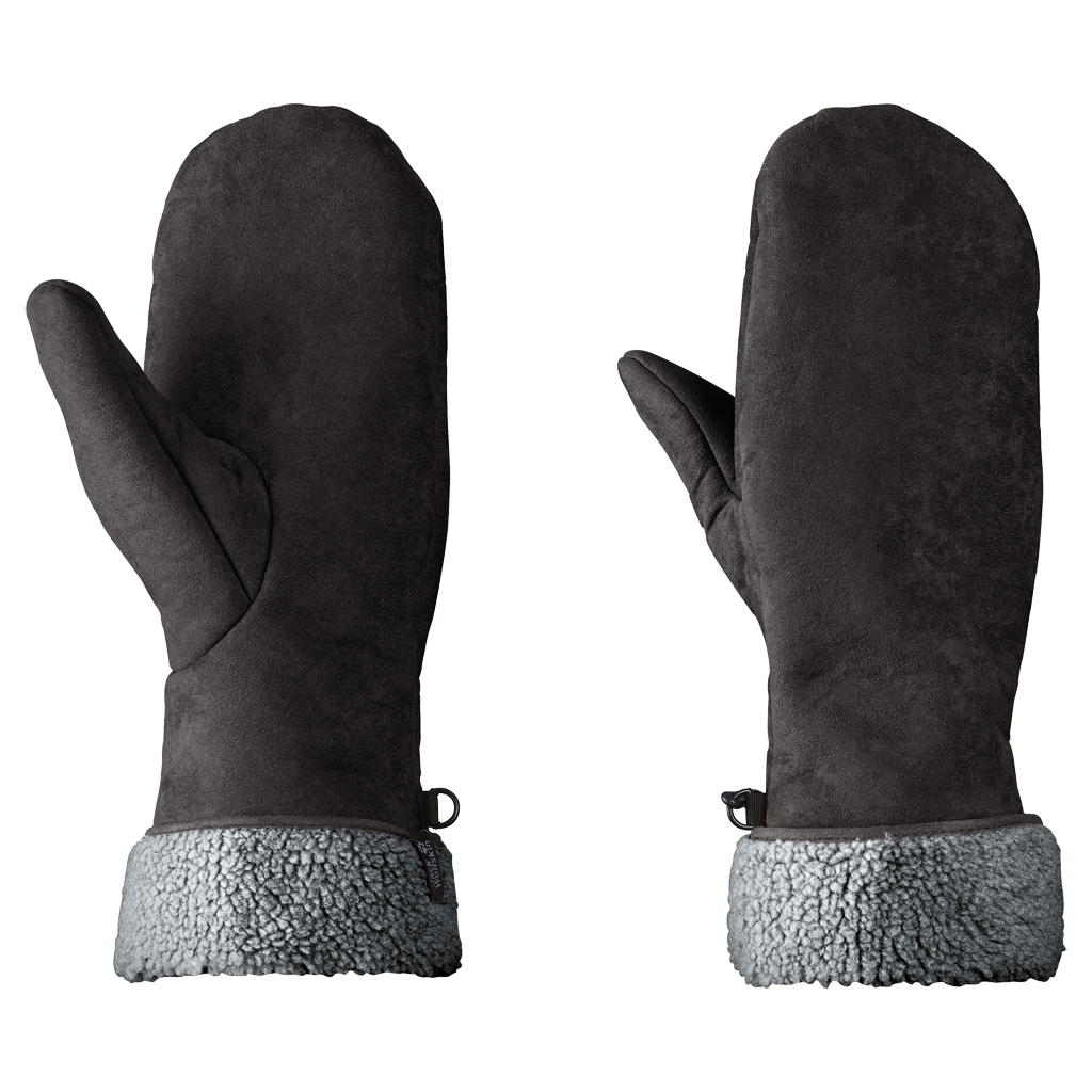 Jack Wolfskin Stormlock Fleece Mitten black-30