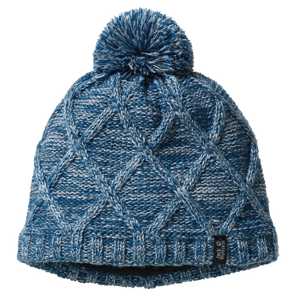 Jack Wolfskin Stormlock Knit Cap Kids glacier blue-30