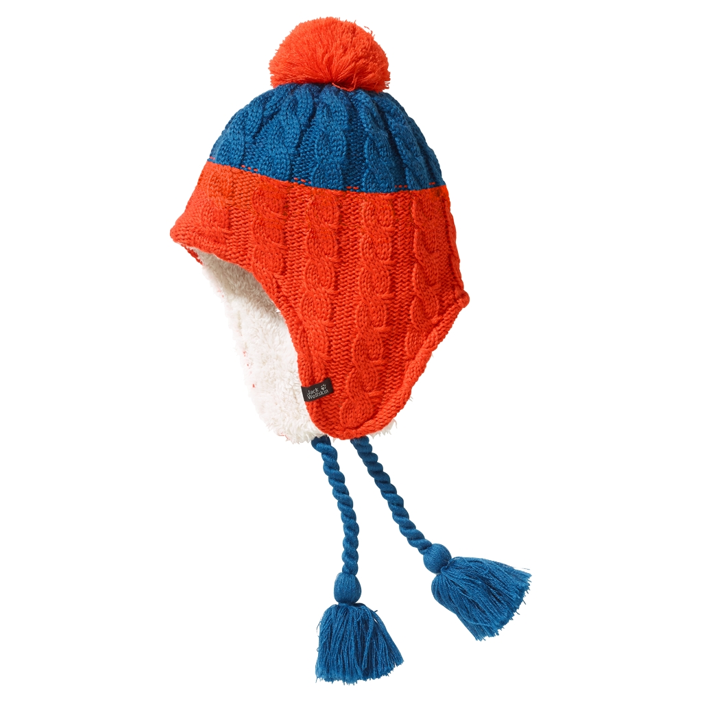 Jack Wolfskin Polar Bear Knit Hat Kids glacier blue-30
