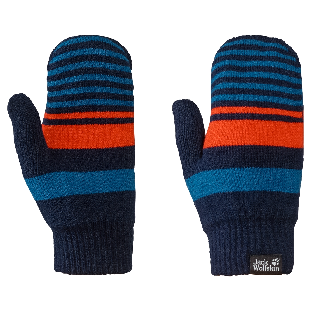 Jack Wolfskin Cross Knit Mitten Kids glacier blue-30