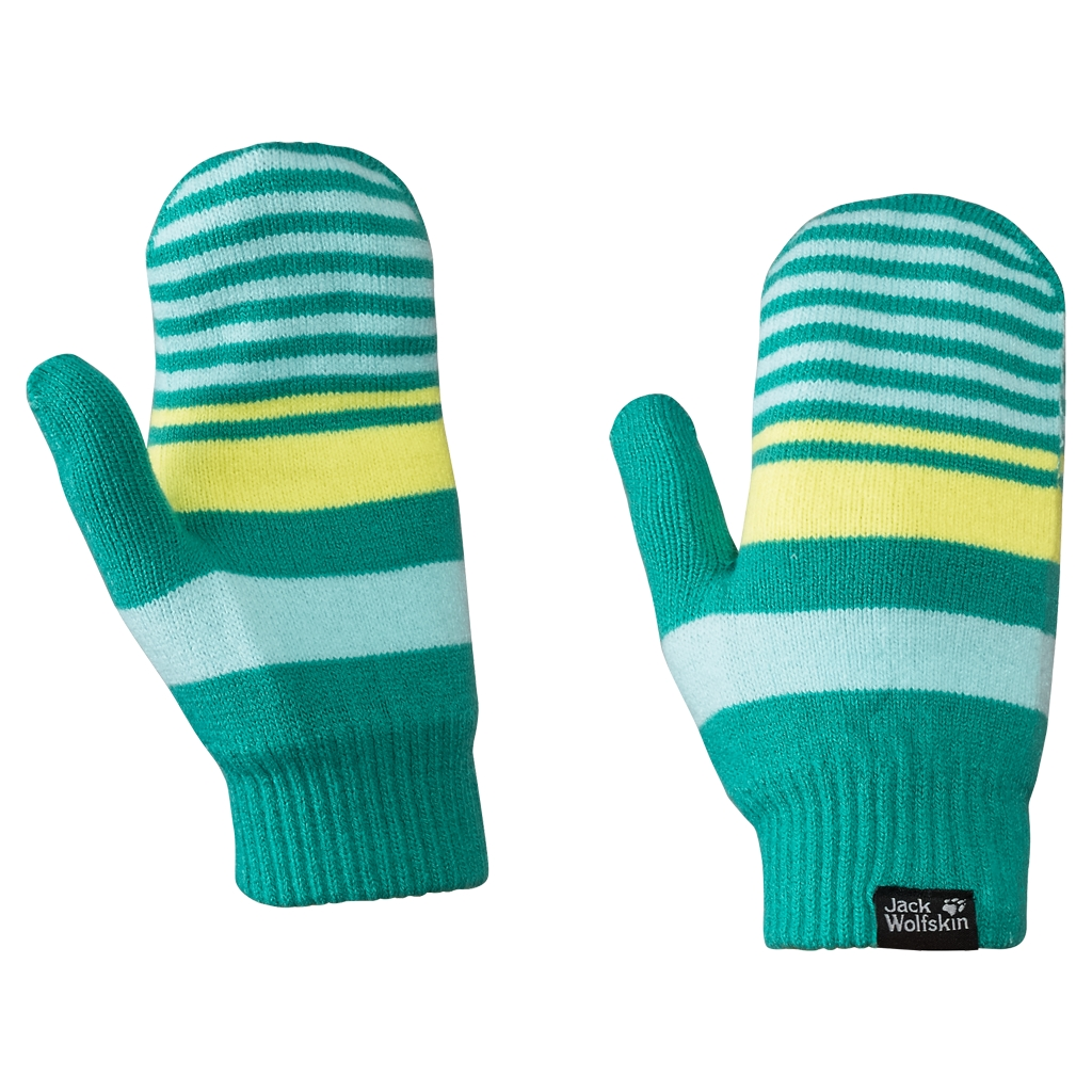 Jack Wolfskin Cross Knit Mitten Kids spearmint-30