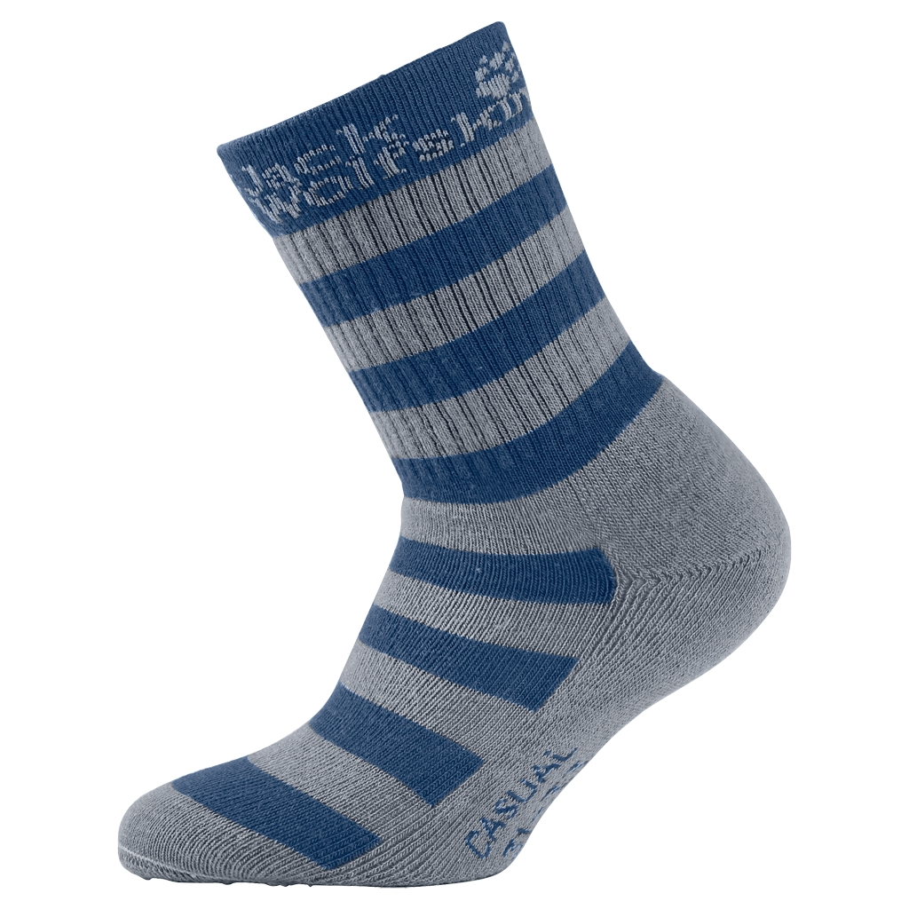 Jack Wolfskin Box Socks 2X Kids dark sky-30