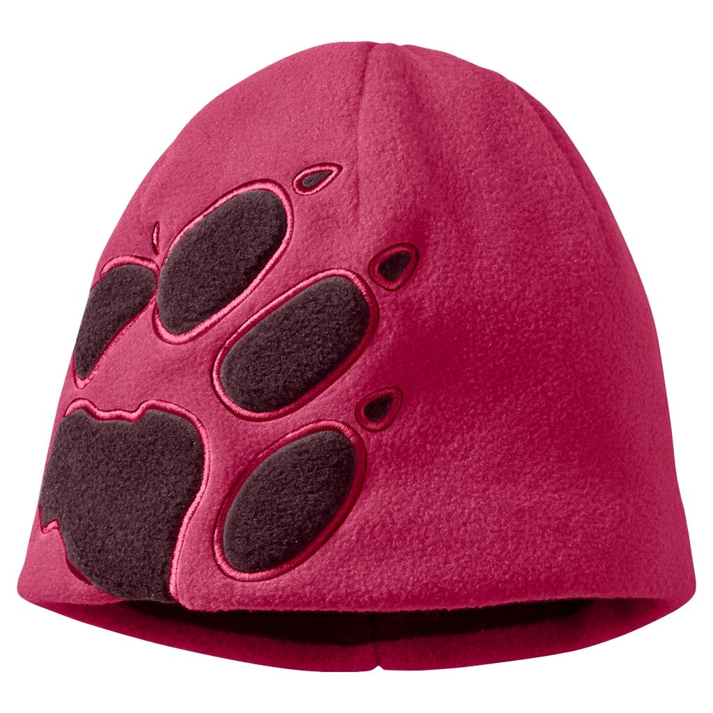 Jack Wolfskin Front Paw Hat Kids azalea red-30