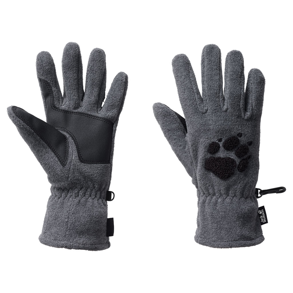 Jack Wolfskin Paw Gloves grey heather-30