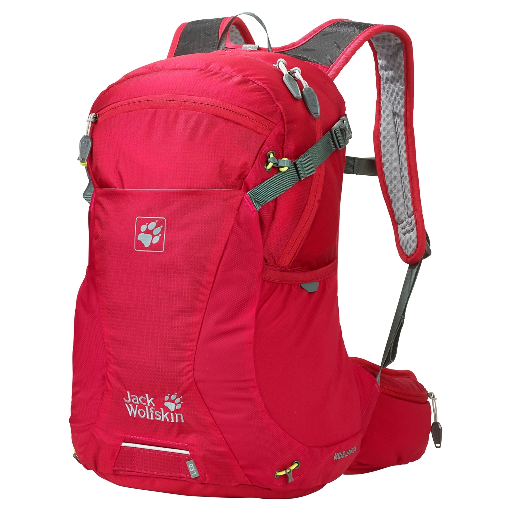 Jack Wolfskin Moab Jam 24 racing red-30