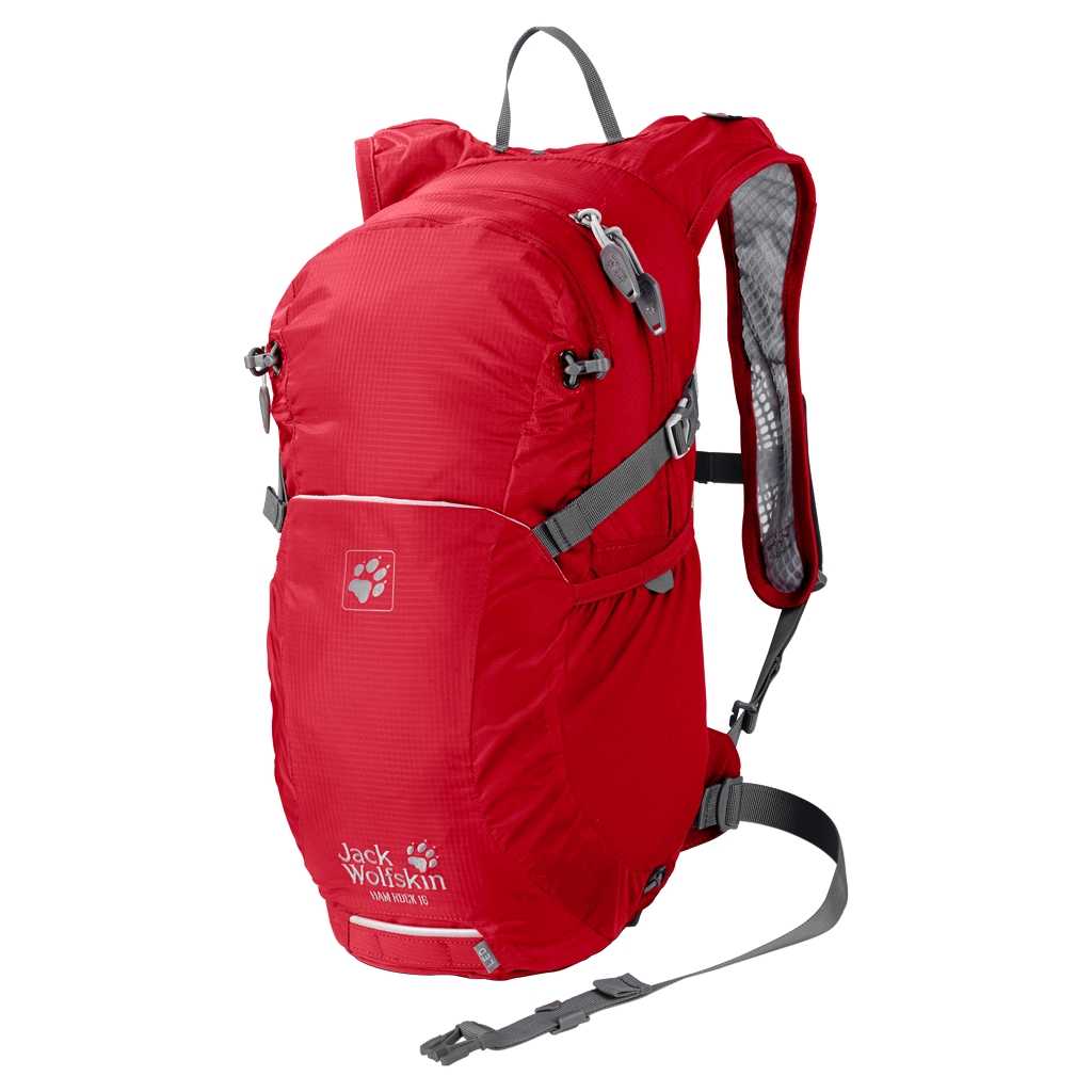 Jack Wolfskin Ham Rock 16 red fire-30