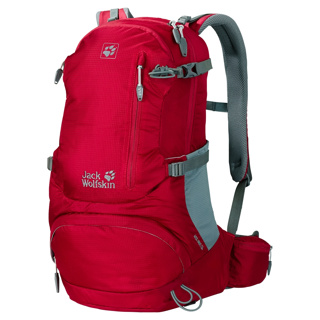 Jack Wolfskin Acs Hike 24 Pack indian red-30