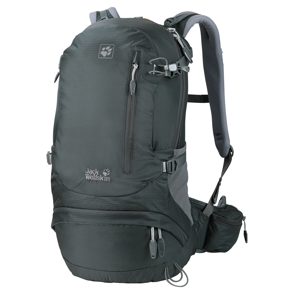 Jack Wolfskin Acs Hike 24 Pack greenish grey-30