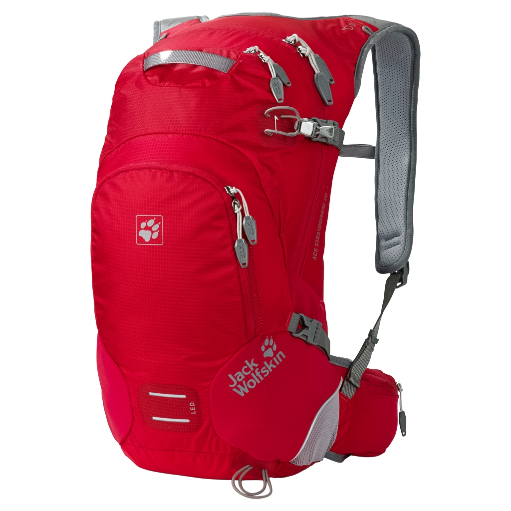 Jack Wolfskin Acs Stratosphere 20 Pack red fire-30