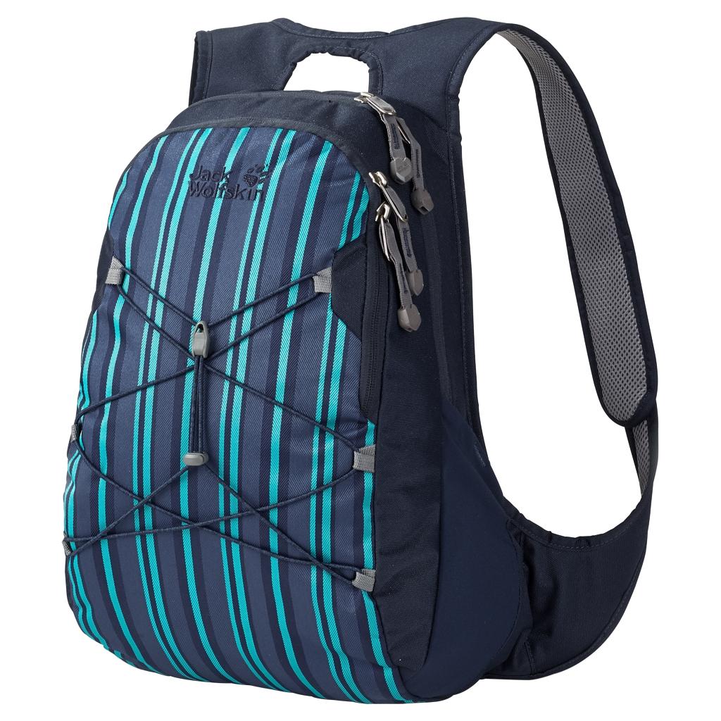Jack Wolfskin Savona blue woven stripes-30