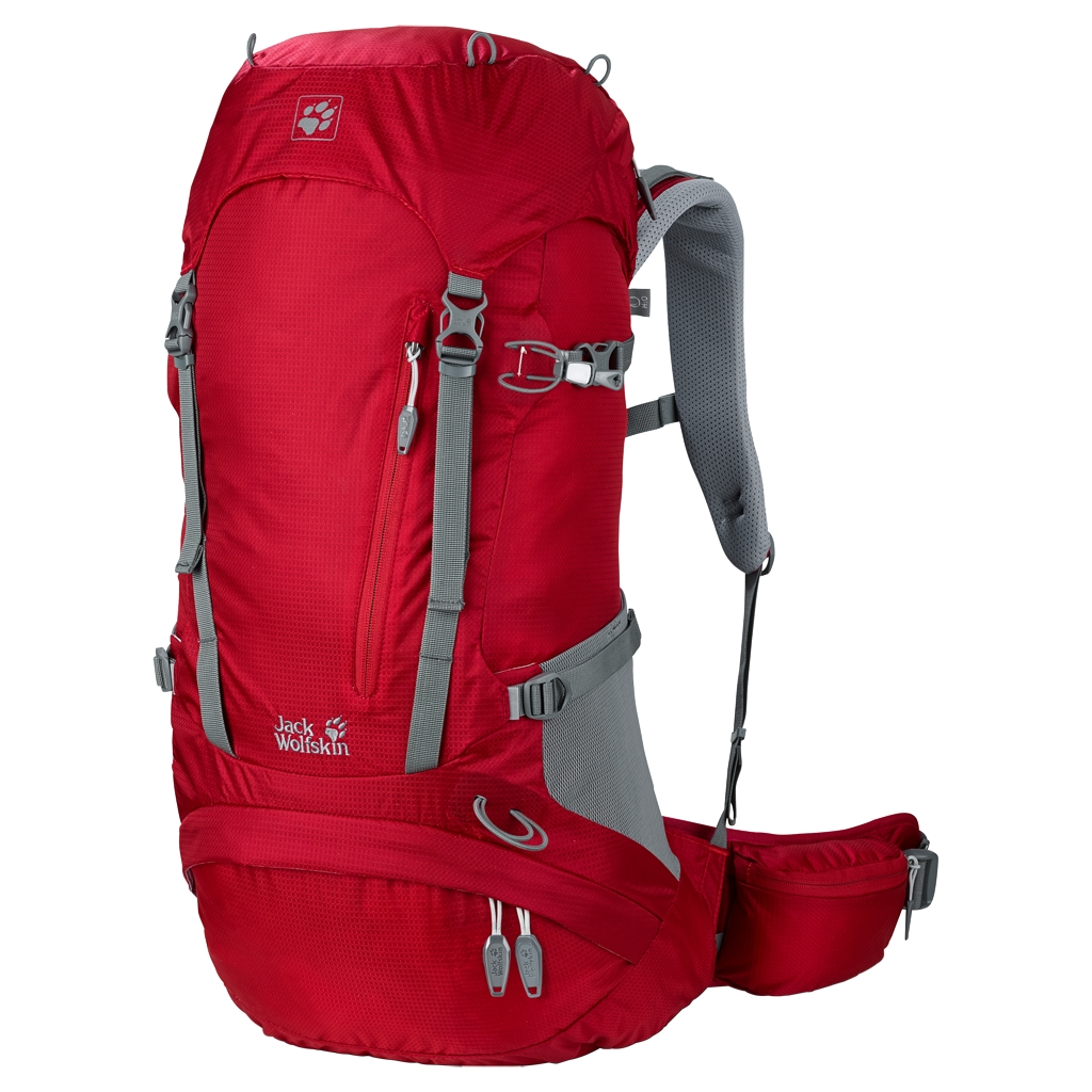 Jack Wolfskin Acs Hike 32 Pack indian red-30