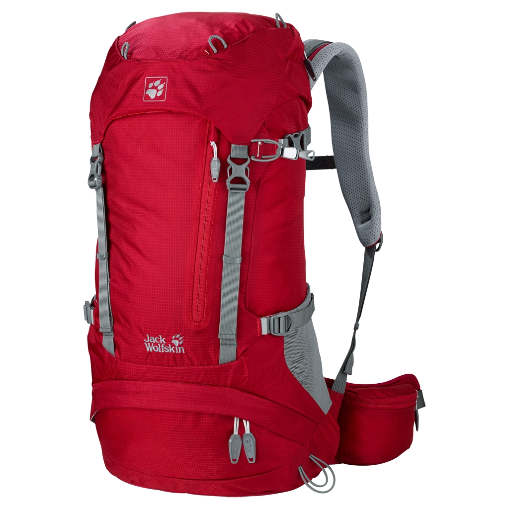 Jack Wolfskin Acs Hike 26 Pack indian red-30