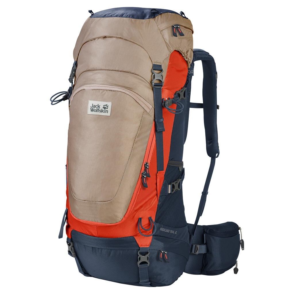 Jack Wolfskin Highland Trail 42 gravel-30