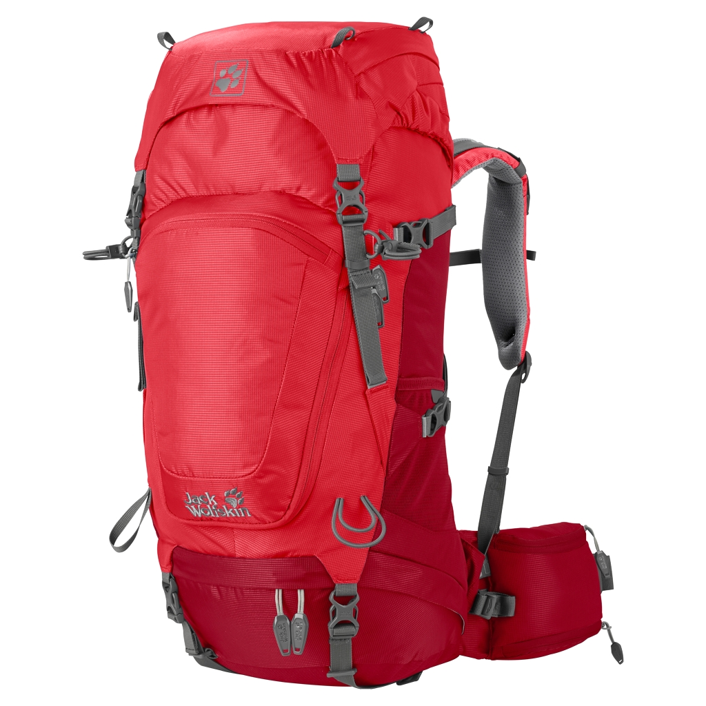 Jack Wolfskin Highland Trail 34 Women indian red-30