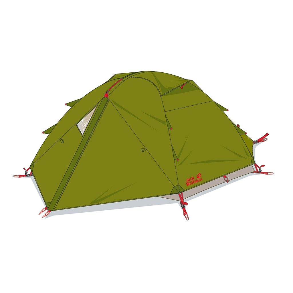 Jack Wolfskin Eclipse Iii green tea-30