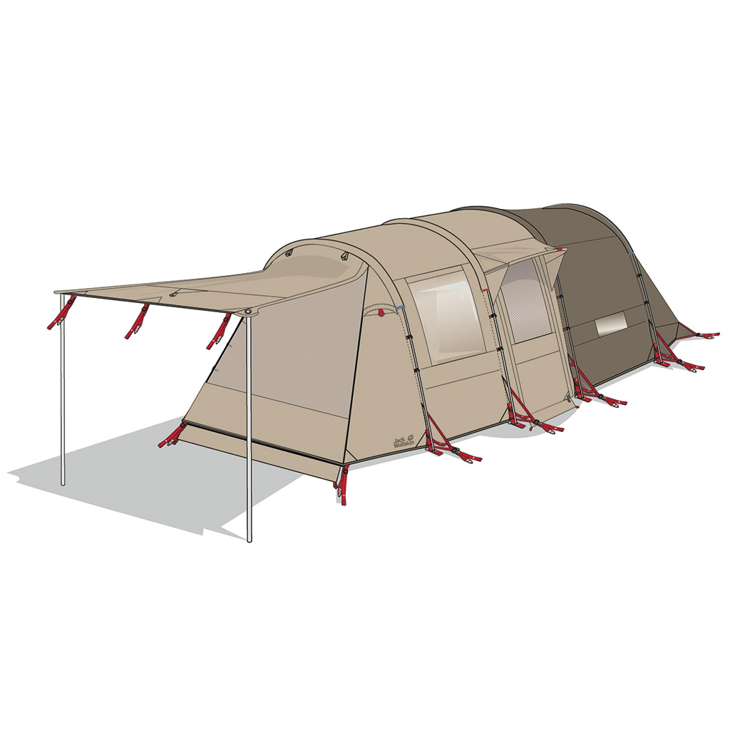 Jack Wolfskin Travel Lodge Rt sahara-30