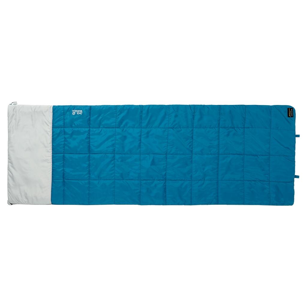 Jack Wolfskin 4-In-1 Blanket +5 dark turquoise-30