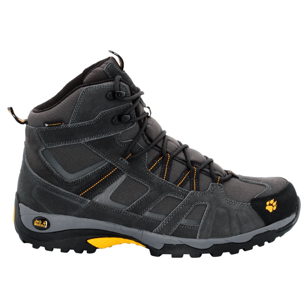 Jack Wolfskin Vojo Hike Mid Texapore Men burly yellow-30