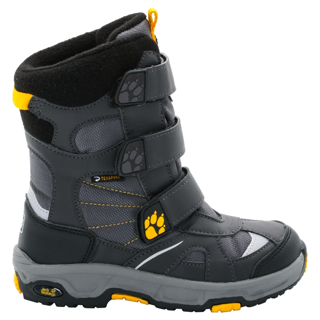 Jack Wolfskin Boys Snow Diver Texapore burly yellow XT-30