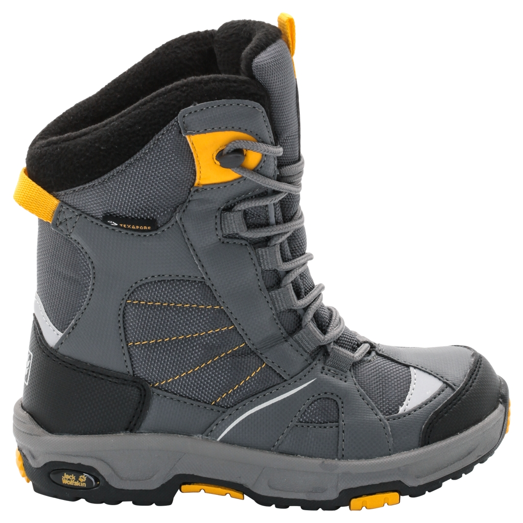 Jack Wolfskin Boys Snow Ride Texapore burly yellow XT-30
