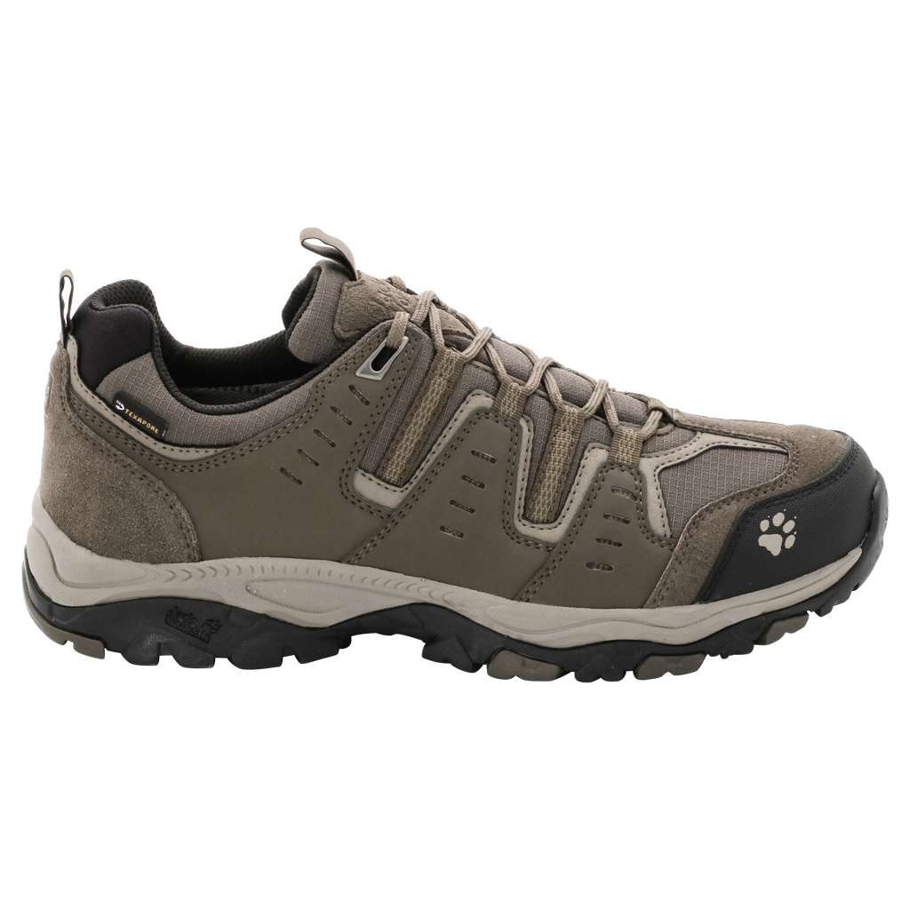 Jack Wolfskin Mtn Storm Texapore Low M burnt olive-30