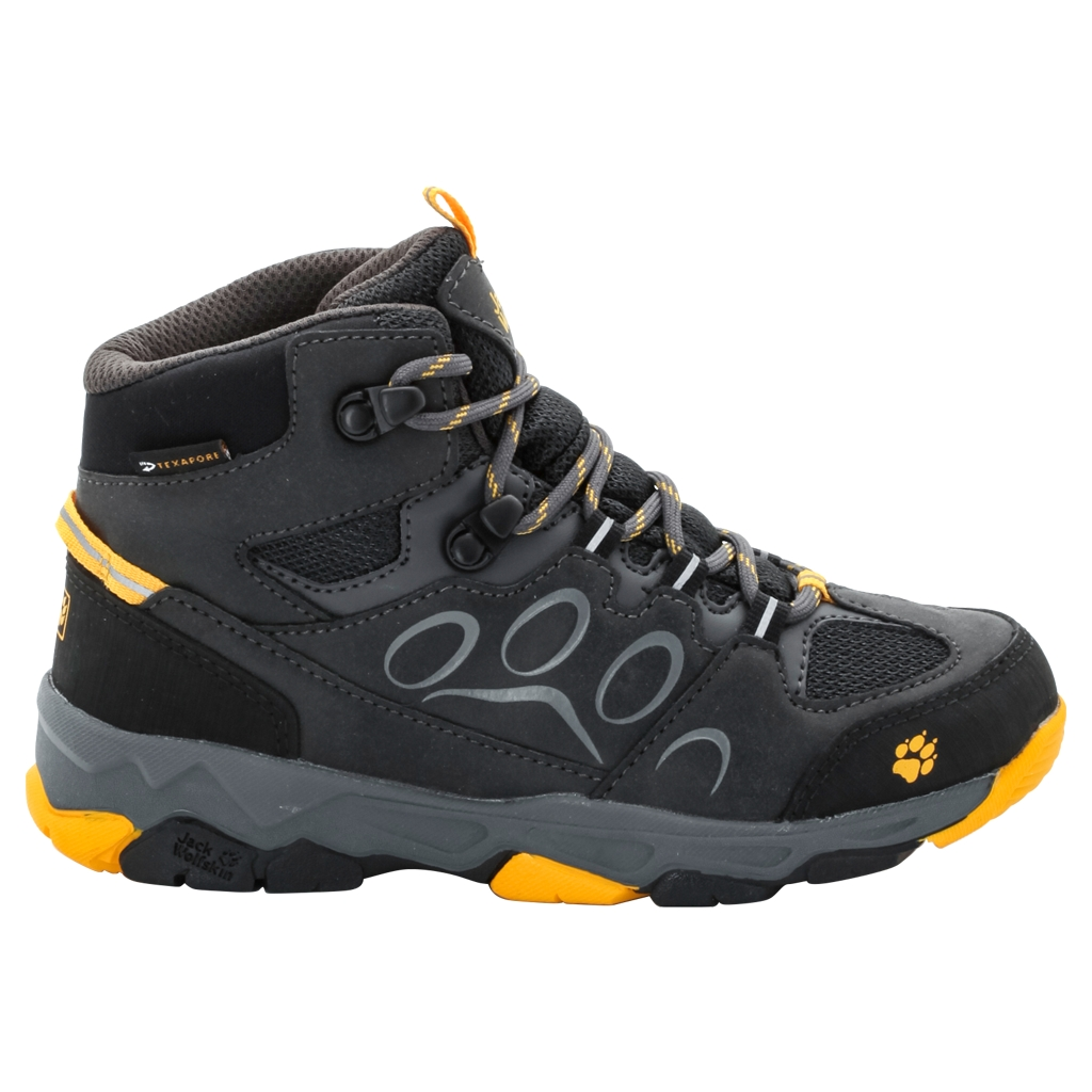 Jack Wolfskin Mtn Attack 2 Texapore Mid K burly yellow-30