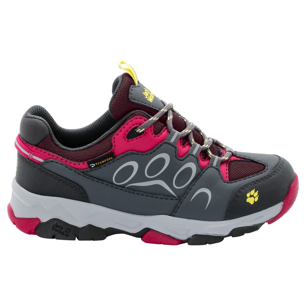Jack Wolfskin Mtn Attack 2 Texapore Low K azalea red-30