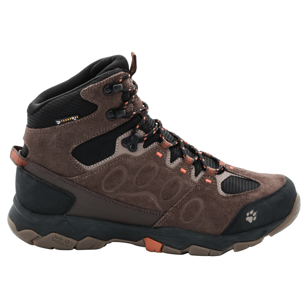 Jack Wolfskin Mtn Attack 5 Texapore Mid M earth orange-30