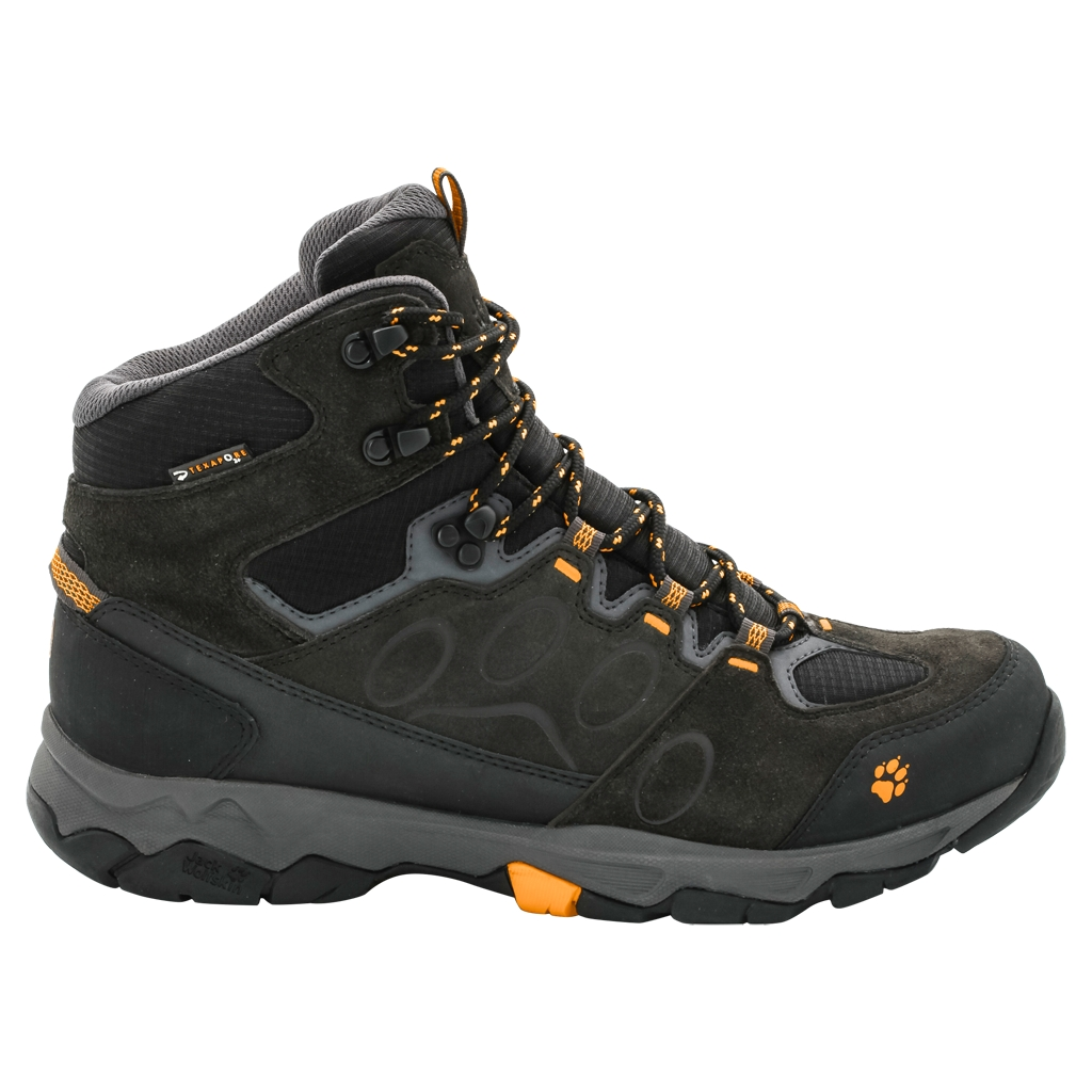 Jack Wolfskin Mtn Attack 5 Texapore Mid M burly yellow-30