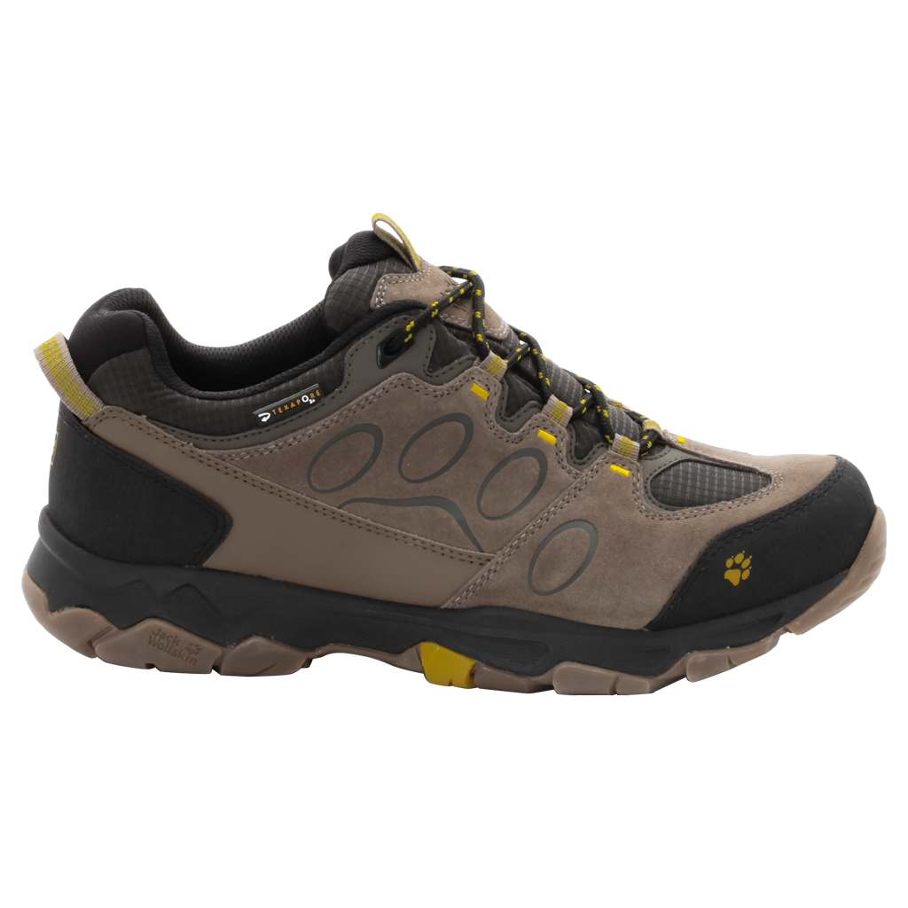 Jack Wolfskin Mtn Attack 5 Texapore Low M mustard seed-30