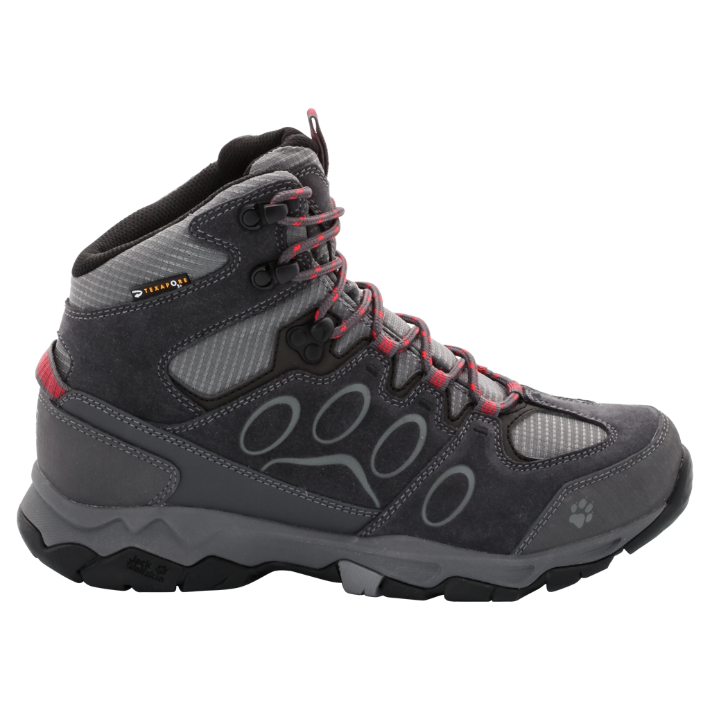 Jack Wolfskin Mtn Attack 5 Texapore Mid W hibiscus red-30