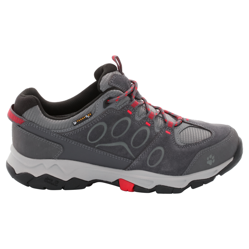 Jack Wolfskin Mtn Attack 5 Texapore Low W hibiscus red-30