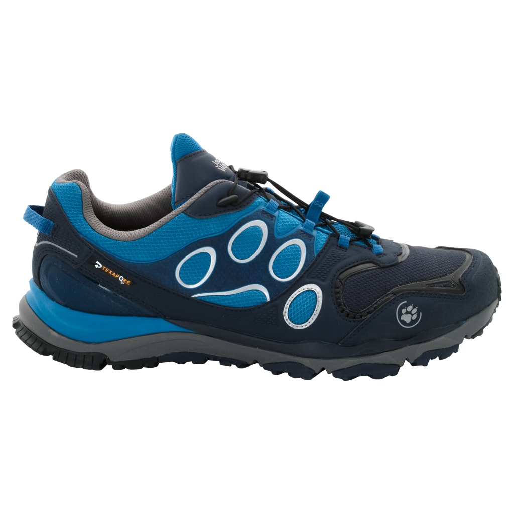Jack Wolfskin Trail Excite Texapore Low M glacier blue-30
