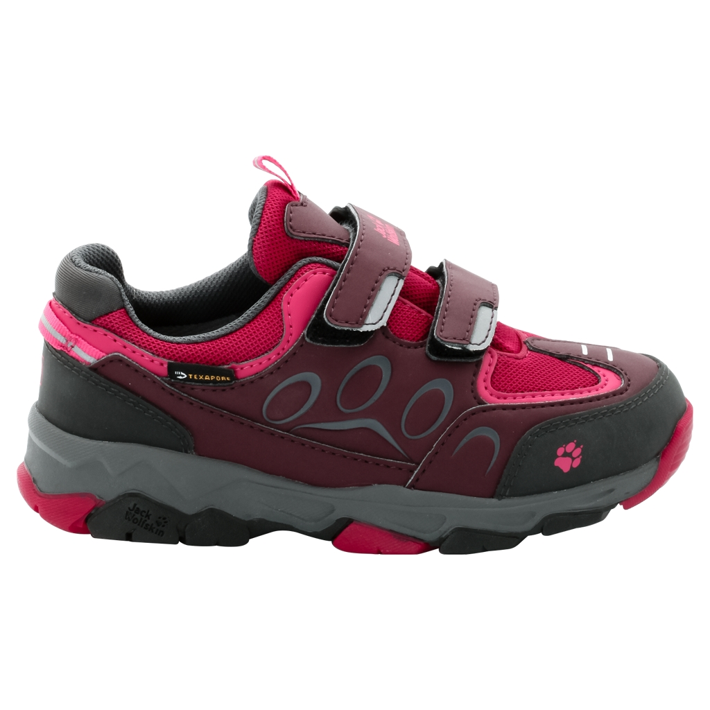Jack Wolfskin Mtn Attack 2 Texapore Low Vc K dark berry-30