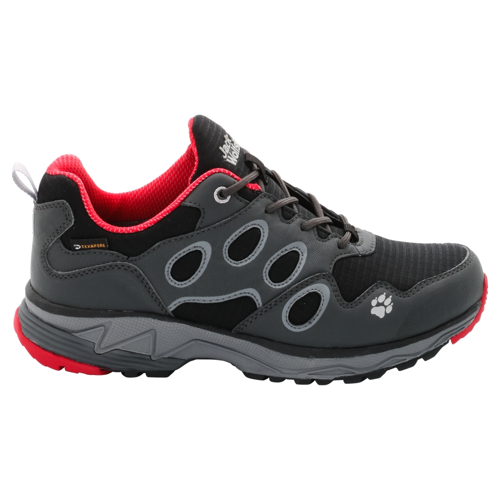 Jack Wolfskin Venture Fly Texapore Low W red fire-30