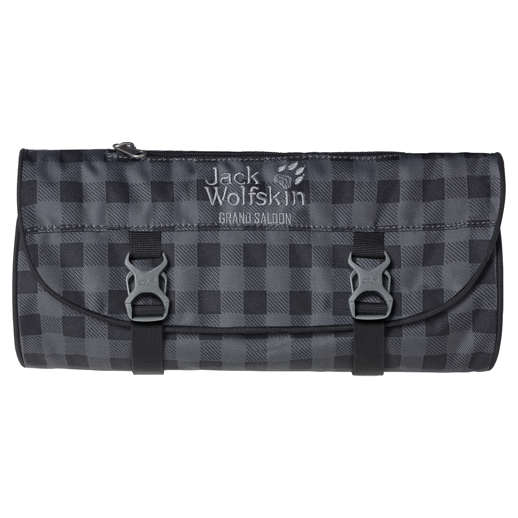 Jack Wolfskin Grand Saloon dark steel classic check-30