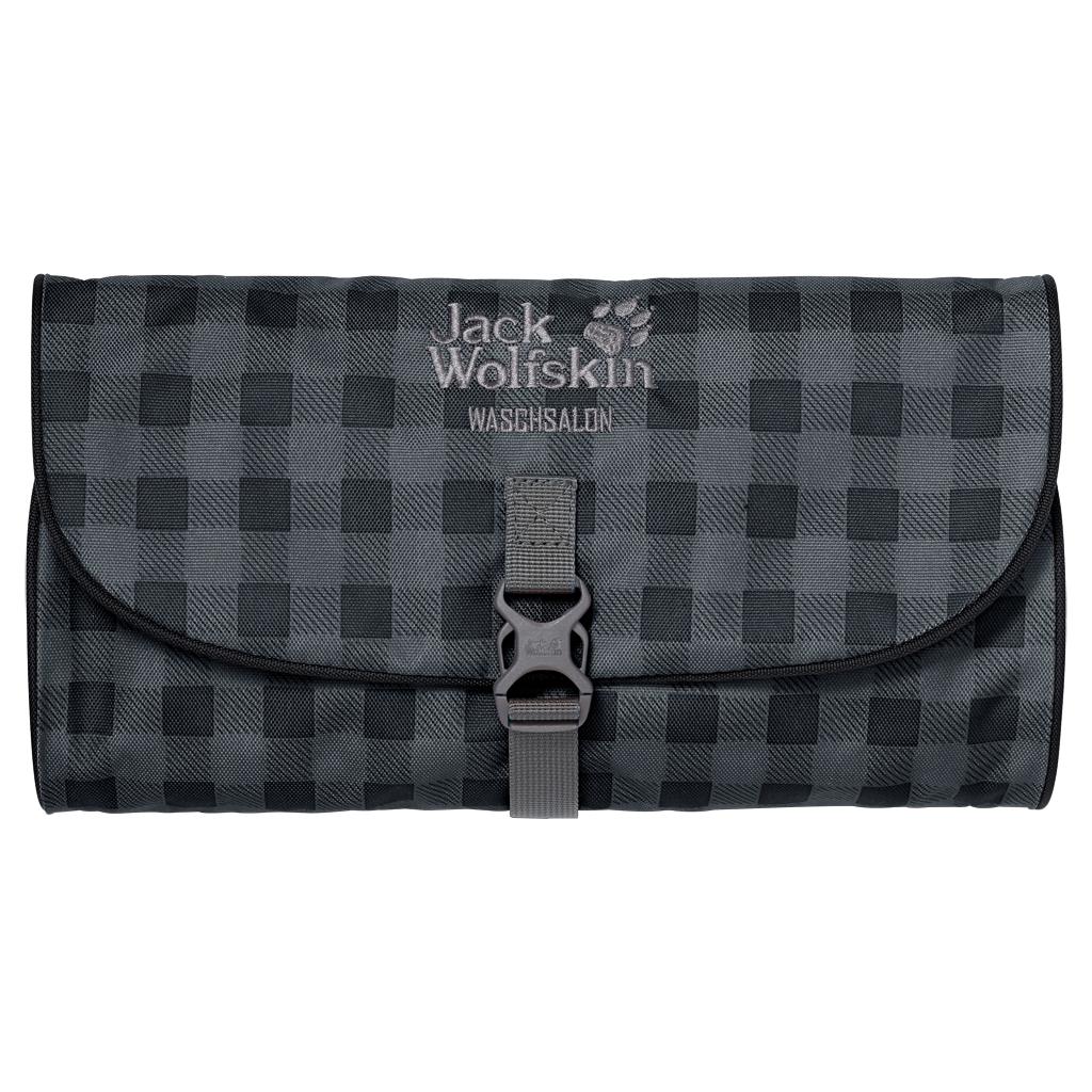 Jack Wolfskin Waschsalon dark steel classic check-30