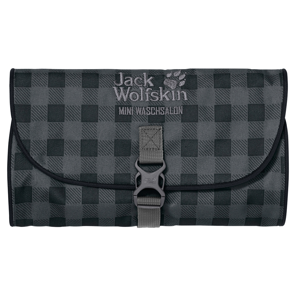 Jack Wolfskin Mini Waschsalon dark steel classic check-30