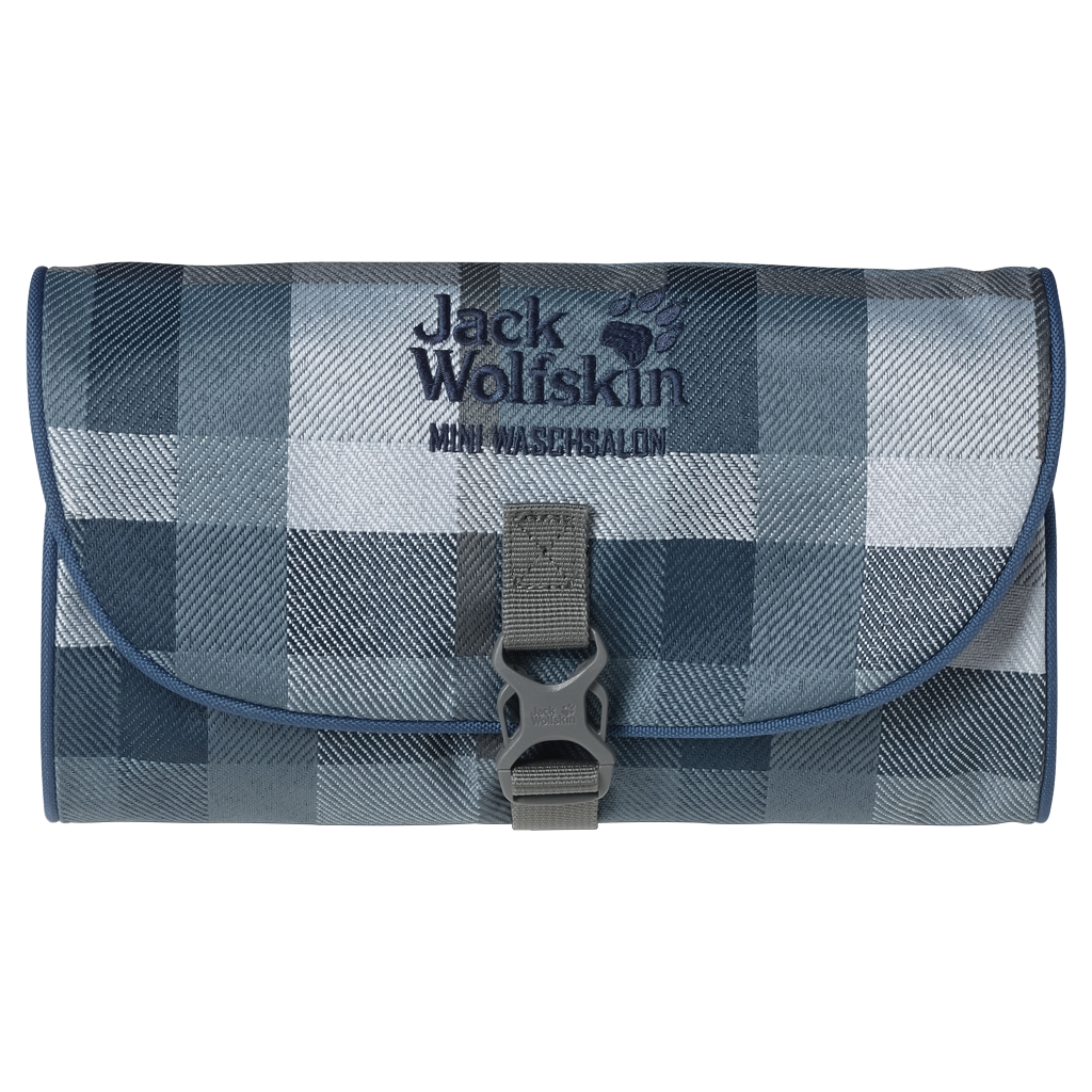 Jack Wolfskin Mini Waschsalon dark sky woven check-30