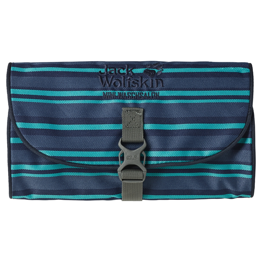 Jack Wolfskin Mini Waschsalon blue woven stripes-30