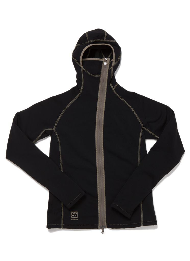 Vik Hooded Women´s Jacket Black-30