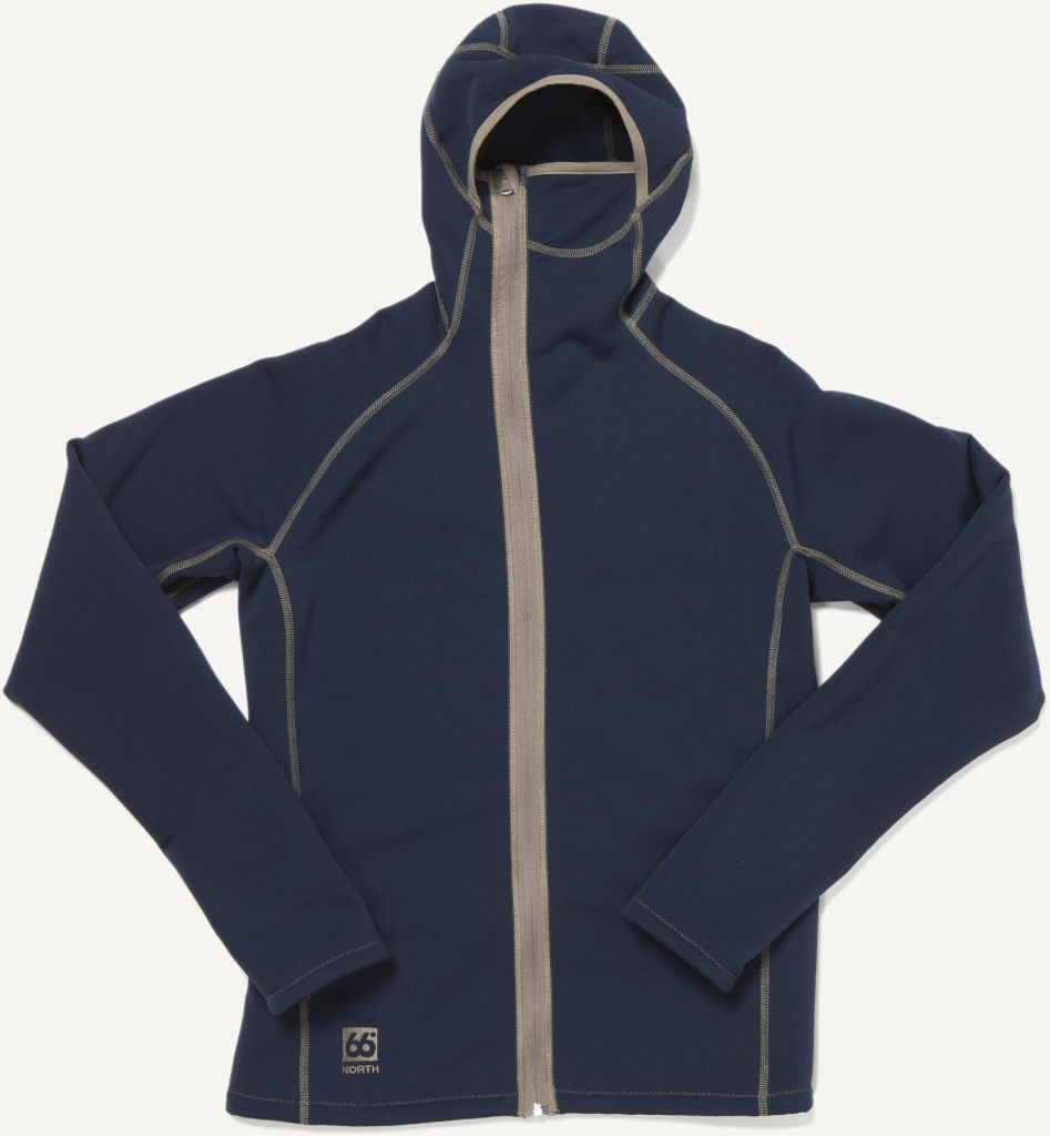 Vik Hooded Jacket Dark Midnight-30