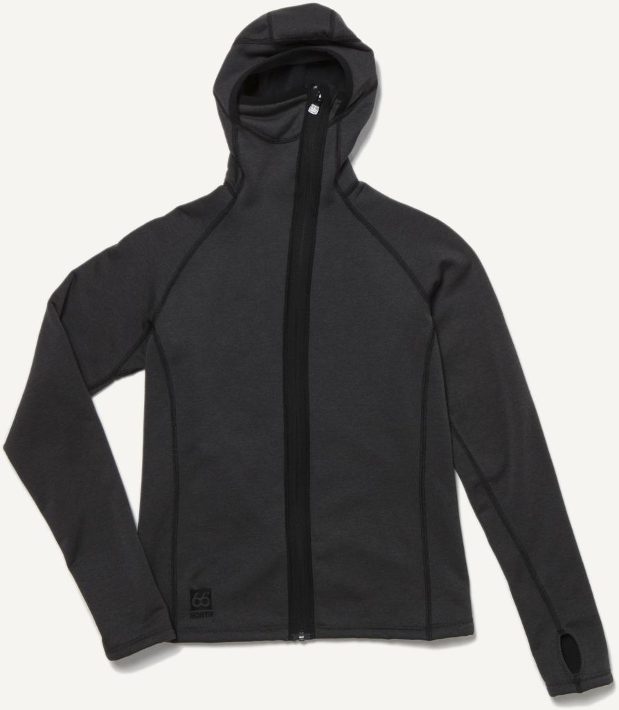 Vik Hooded Women´s Jacket Charcoal-30