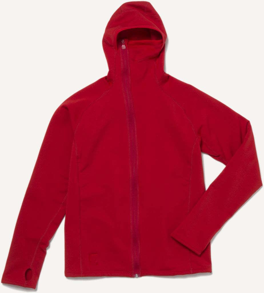 Vik Hooded Jacket Red-30