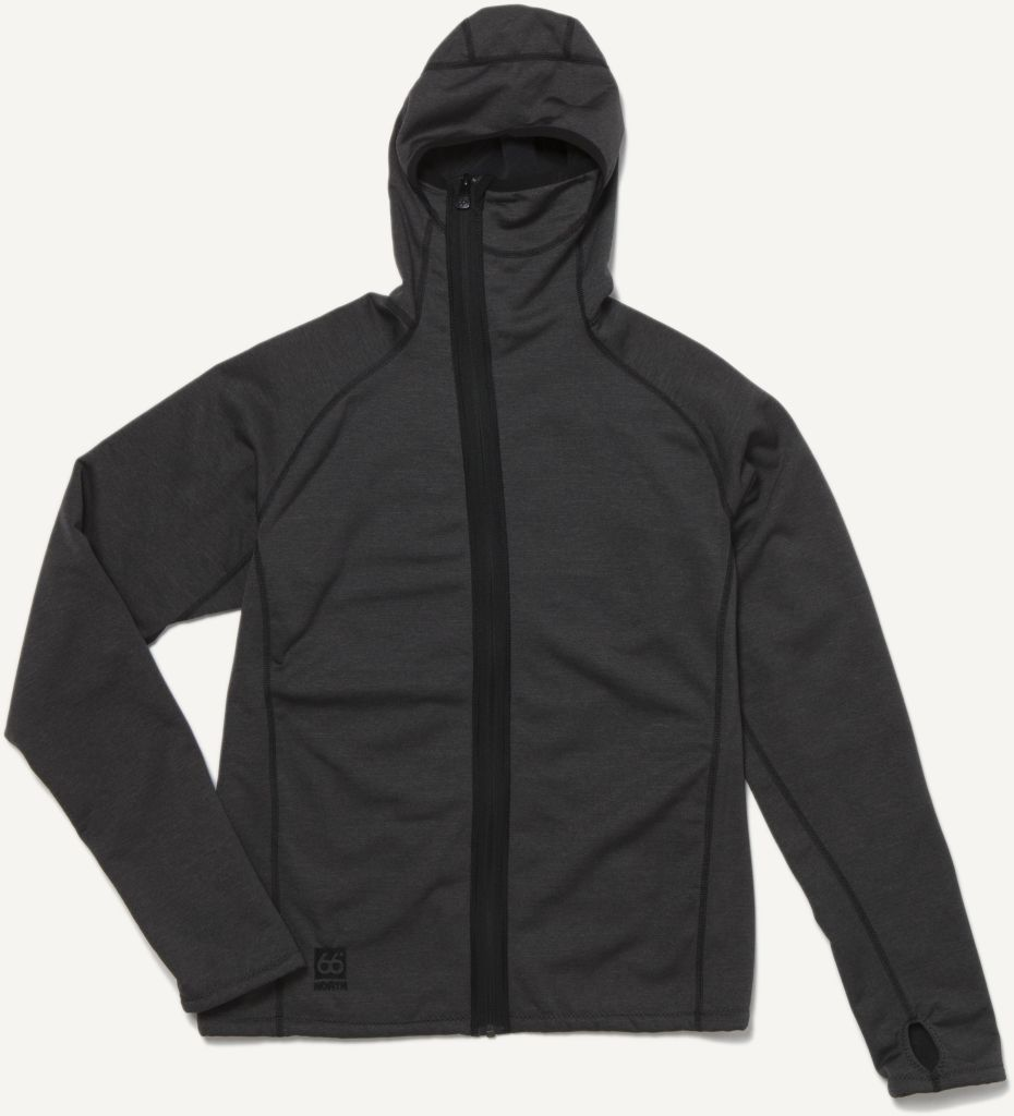 Vik Hooded Jacket Charcoal-30
