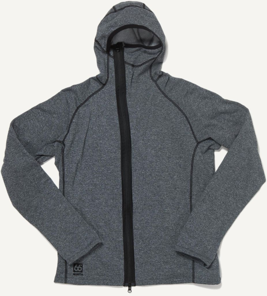 Vik Heather Hooded Lavic Grey-30