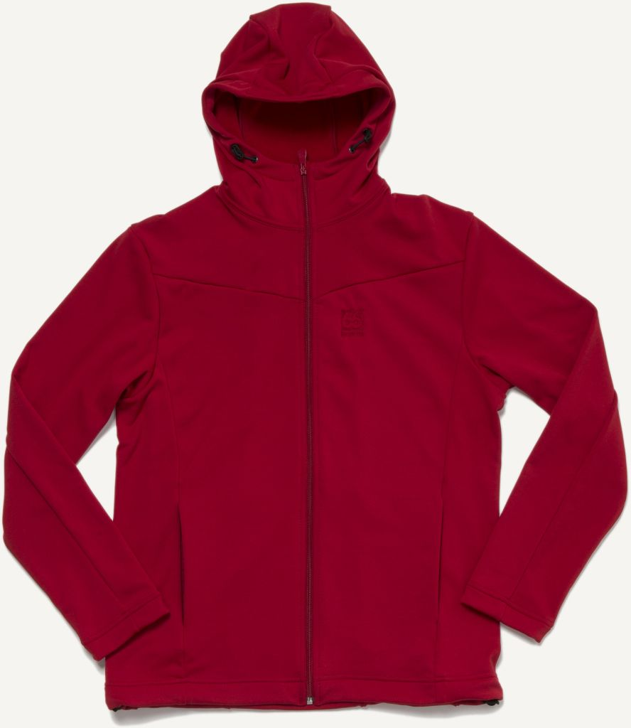 Hengill Hooded Jacket Ripe Red-30