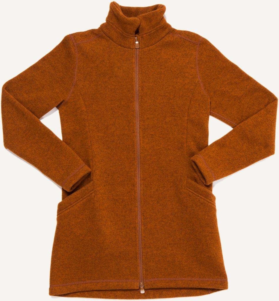 Esja Long Jacket Nut Brown-30