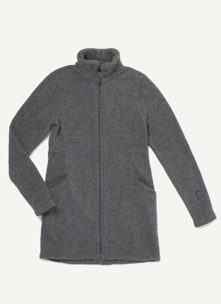 Esja Long Jacket Smoke Grey-30
