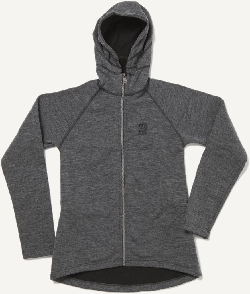 Kjölur Light Knit Women´s Hooded Jacket Charcoal-30